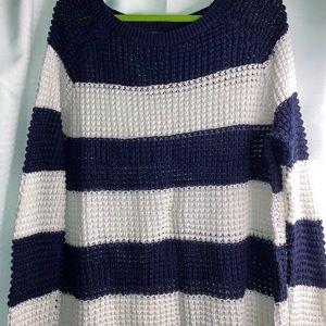 American Eagle Crochet Jegging Sweater